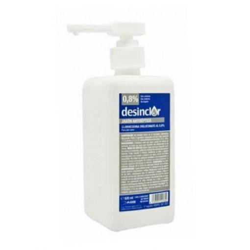 Desinclor 0,8% antiseptic soap